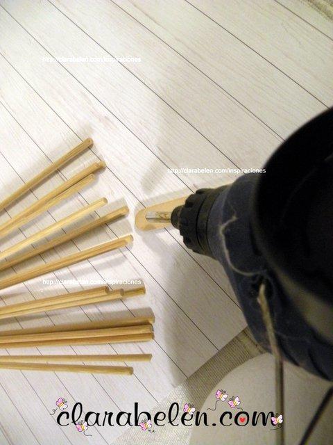 Arbol de Navidad casero para manualidades fáciles  DIY tutorial  (7)