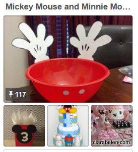 Fiestas de cumpleaños de Mickey y Minnie Mouse
