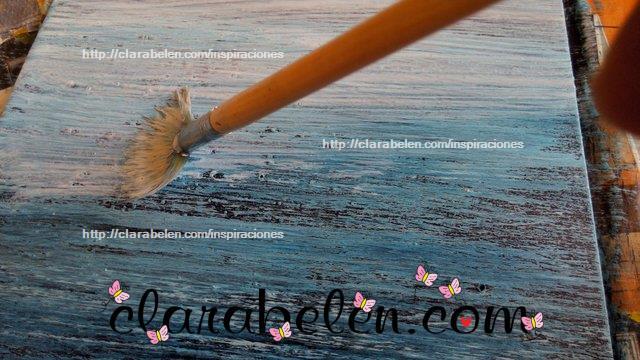 Pintar madera con efecto de falso decapado paso a paso (19)