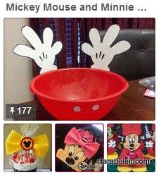 Mickey y Minnie Mouse fiestas de cumpleanos