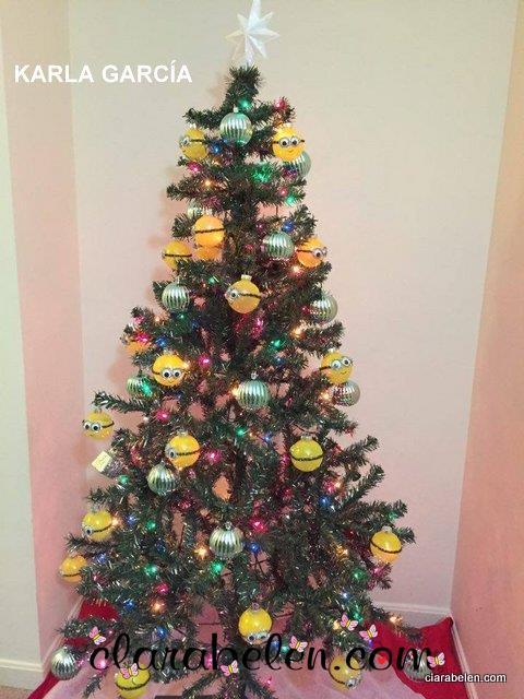 arbol de Navidad de Minions Karla Garcia-001