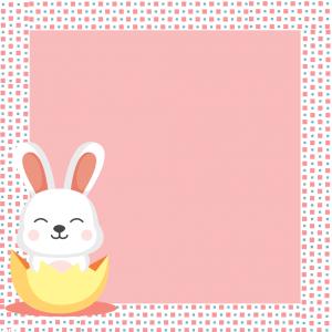 Marco conejito de Pascua2